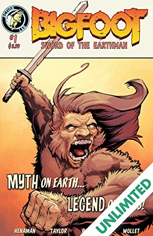 Bigfoot: Sword of the Earthman #1